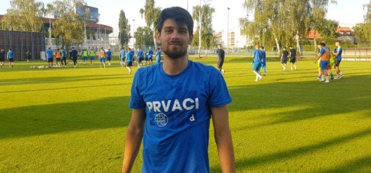 USPJEH MLADOG ZADRANINA Toni Mrkić počeo trenirati u GNK Dinamo II