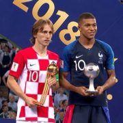 Od izbjeglice do svjetskog trona: Luka Modrić najbolji igrač Svjetskog prvenstva