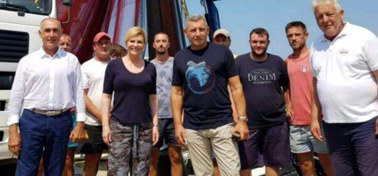 General Gotovina zapošljava preko 100 radnika; Posjetila ih predsjednica