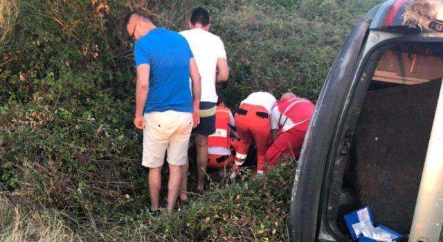 FOTO Teška prometna nesreća na izlazu s Kalmetine