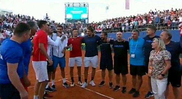 NAKON POBJEDE BORNE ĆORIĆA U ZADRU Hrvatska u finalu Davis Cupa!