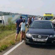 GALERIJA Sudar kamiona i dva automobila na Kalmetini