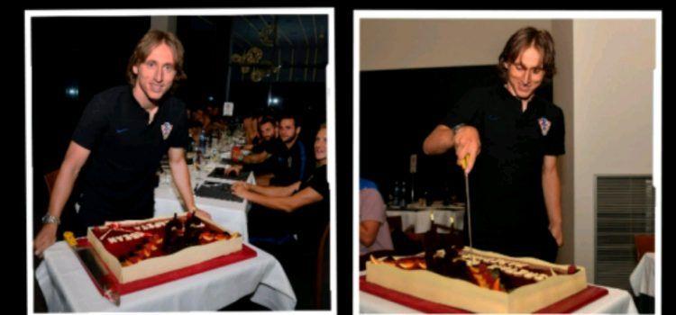VIDEO Luka Modrić proslavio 33. rođendan