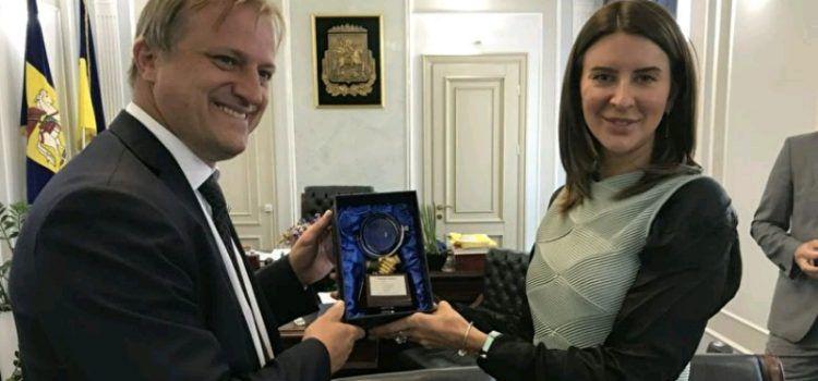 Gradonačelnik Dukić otputovao u službeni posjet Ukrajini