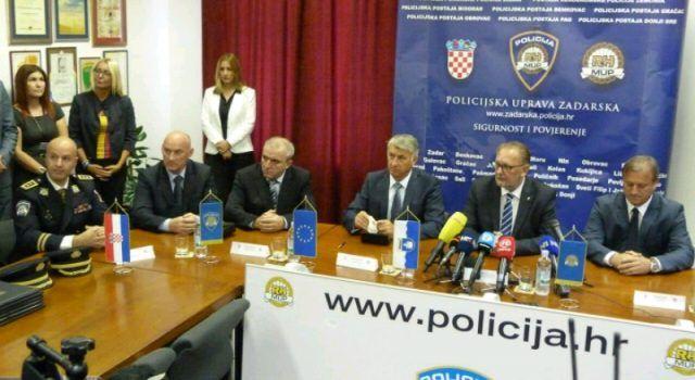 Ministar Božinović u Zadru s Dukićem i Longinom potpisao sporazum o uređenju postaje