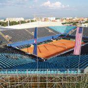 GALERIJE Stadion i tribine na Višnjiku spremno dočekuju polufinale Davis Cupa