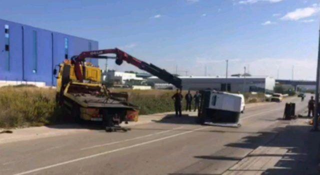 VIDEO Prometna nesreća u Ulici 159. brigade; sudarila se dva kombija