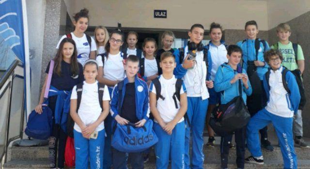 Članovi Plivačkog kluba Jadera vratili se iz Šibenika sa šest medalja