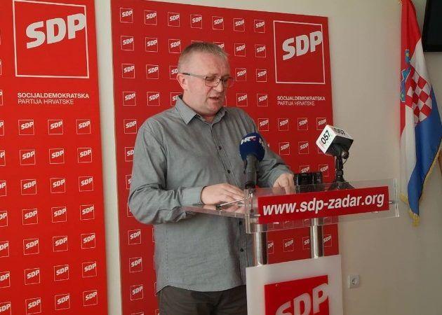 Novoselović dao ostavku na dužnost predsjednika SDP-a Zadar i istupio iz stranke!