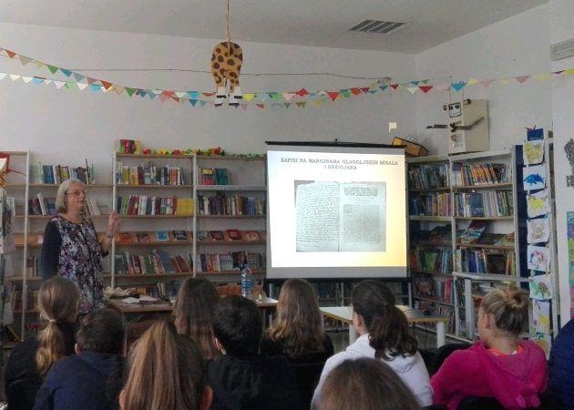 Predavanje dr. sc. Grozdane Franov Živković održano u Knjižnici Jurja Barakovića u Ražancu
