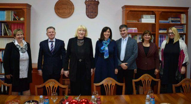 Ministrica Divjak dala potporu projektima Sveučilišta u Zadru