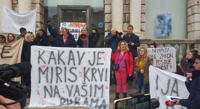 GALERIJA Održan veliki prosvjed – Zadrani žele pravdu!