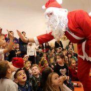 GALERIJA Djed Mraz darivao virske mališane