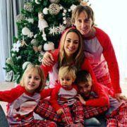 """Luka Modrić s obitelji: """"Sretan Božić svima!"""""""