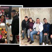 Mladi iz HDZ-a punim vrećama hrane razveselili siromašnu obitelj iz Rtine
