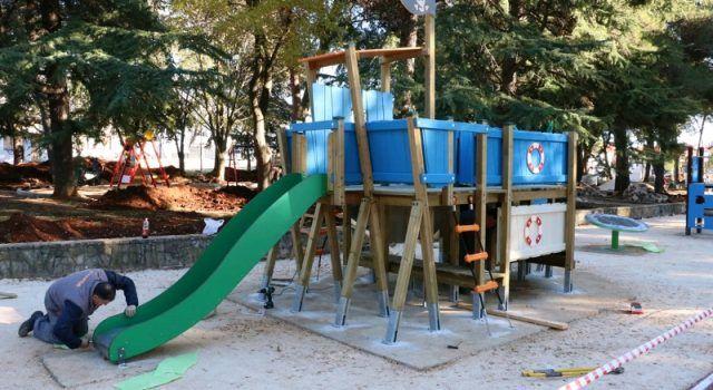 U tijeku izgradnja i opremanje suvremenog dječjega parka u sklopu ŠC-a Višnjik