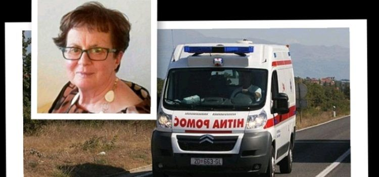 Marija Babić: Vozilo Hitne pomoći umalo je ubilo mene i četvero unuka!