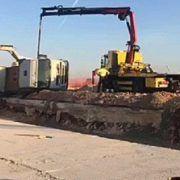 VIDEO Prevrnuo se kamion pri radovima na području Zračne luke
