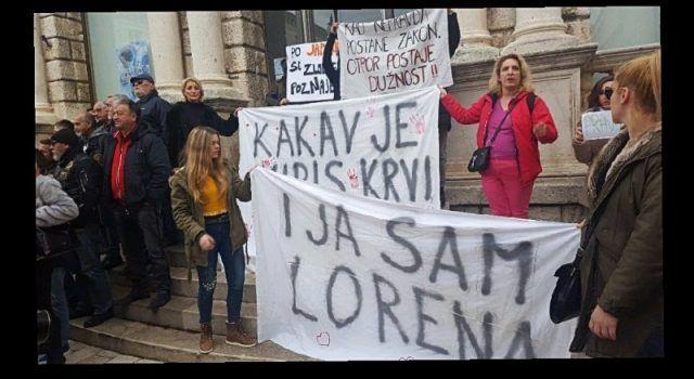 U subotu u Zadru novi prosvjed zbog puštanja Daruvarca na slobodu