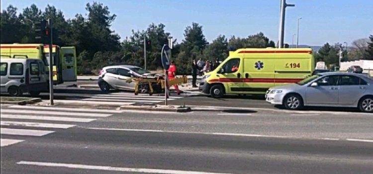 VIDEO Teška prometna nesreća na ulazu u Bibinje
