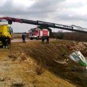VIDEO Bura otpuhala avion, izvukla ga vučna služba braće Deur
