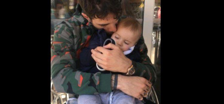 Šime Vrsaljko uživa sa sinom u rodnom Zadru tijekom oporavka od operacije