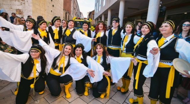 GALERIJA Više od 500 maškara na velikom finalu Zadarskog karnevala