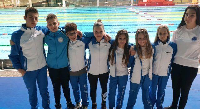Osam članova Plivačkog kluba Jadera na 12. Plivačkom klubu Žabac 2019.