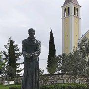 Na blagdan Sv. Jurja u Kruševu blagoslov kipa fra Ante Pavlova