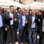 GALERIJA Članovi HDZ-a i kandidati za Euro parlament družili se sa Zadranima