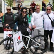 LIJEPA GESTA Josip Zrilić na biciklijadi osvojio bicikl i dao ga osobi koja ga nema