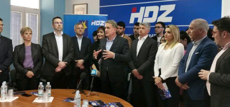 Predstavljeni kandidati HDZ-a za EU parlament; KALMETA: Ovo je najbolja lista!