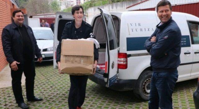 Bolnici na Ugljanu doniran pun kombi posteljine, pidžama, odjeće i potrepština…