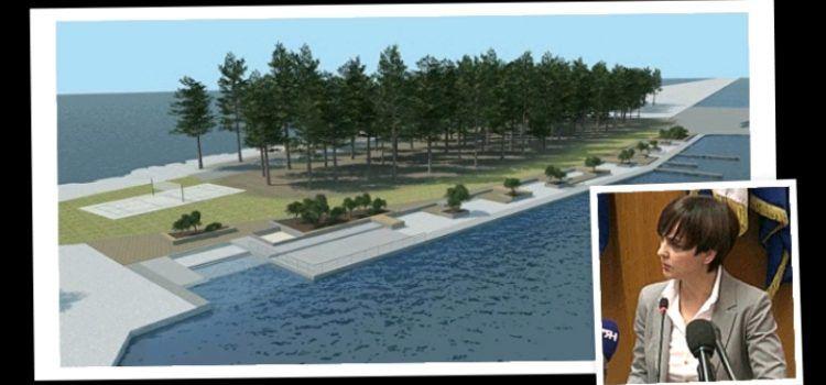 Moderno uređenje obalnog pojasa Punte Bajlo nastavit će se do Petrčana