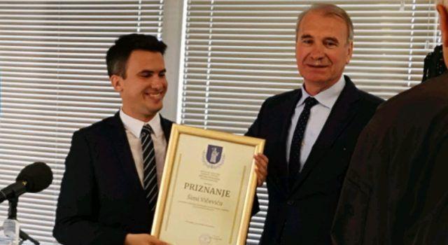 Šime Vičević dobio posebno priznanje Općine Povljana za svoj rad