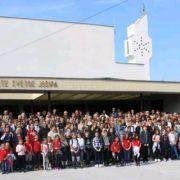 Brojni vjernici idu na proslavu blagdana Sv. Josipa u Nacionalno svetište u Karlovcu