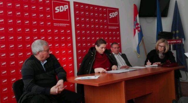Županijski vijećnici SDP-a pozivaju građane na razgovor o problemima