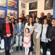 """GALERIJA Čak 14 umjetnika iz Bibinja predstavilo se u galeriji """"Lucina butiga"""""""