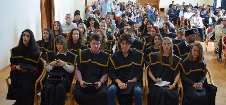 Održana promocija prvostupnika Odjela za ekologiju, agronomiju i akvakulturu