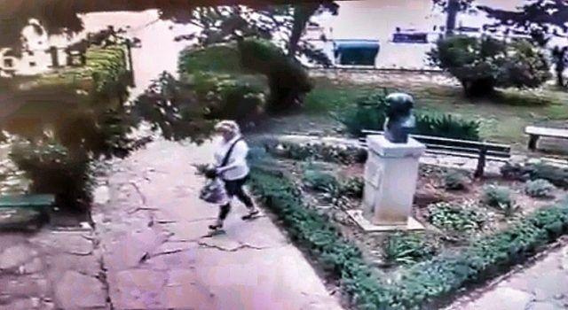 VIDEO Iz Gimnazije Franje Petrića ljuti jer im je nepoznata žena krala cvijeće