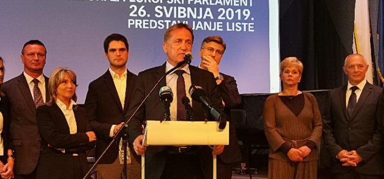 Kalmeta pozvao članove i simpatizere da daju glas listi HDZ-a za Euro parlament