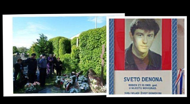 27. godišnjica pogibije Svete Denone, pripadnika Specijalne policije Poskoci