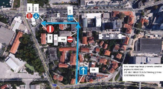 Nova regulacija prometa u Ulici kralja Stjepana Držislava