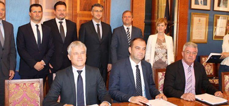 Potpisan ugovor za izgradnju vodno-komunalne infrastrukture aglomeracije Zadar-Petrčane