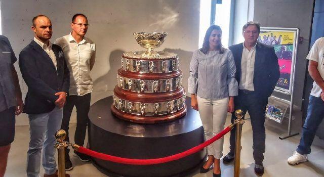 U Zadru izložen trofej Davis cupa kojeg je osvojila reprezentacija Hrvatske