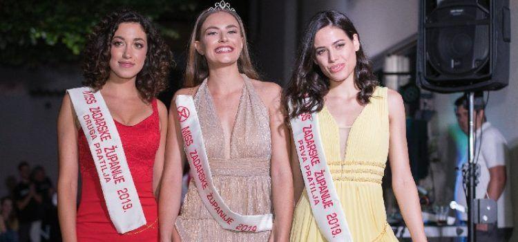 Nova Miss Zadarske županije je Iva Mijolović
