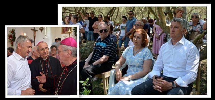 Župan Božidar Longin hodočastio na proslavu blagdana Sv. Nediljice u Vrani