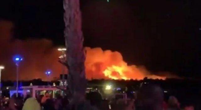 VELIKI POŽAR NA ZRĆU Noćas evakuirano oko 10.000 ljudi
