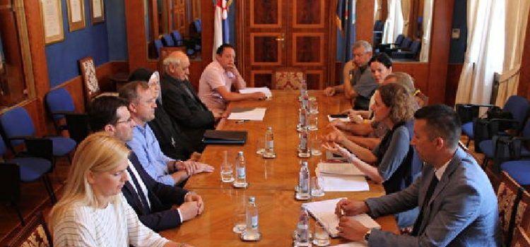 Ministrica kulture sastala se s gradonačelnikom Brankom Dukićem