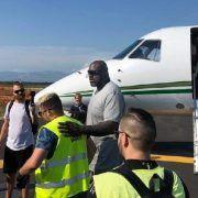 Košarkaška legenda Shaquille O'Neal stigao u Zadar, rado pozirao s fanovima